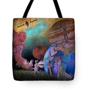 You're Safe In My Hands Tote Bag