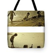 Youth At The Water Tote Bag