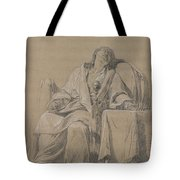 Youth Sleeping In A Chair Tote Bag