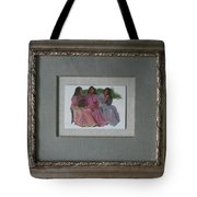 Youthful  Beauties Oil On Porcelain Tote Bag