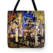 Ytterbium Lattice Atomic Clock Tote Bag