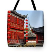 Yu Gardens - A Classic Chinese Garden In Shanghai Tote Bag by Christine Till