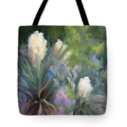 Yucca And Wisteria Tote Bag