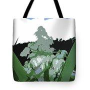 Yucca Blossom Tote Bag