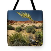 Yucca In The Valley Of Fire Tote Bag