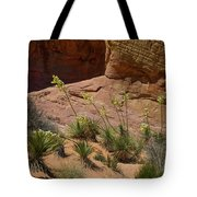Yucca Plants Valley Of Fire Tote Bag