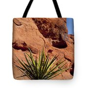 Yucca Three Tote Bag
