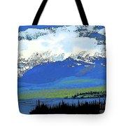 Yukon Mountain Range 3 Tote Bag