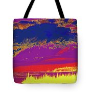 Yukon Mountain Range 7 Tote Bag