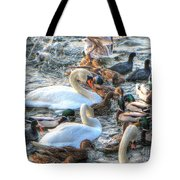 Yury Bashkin Ducks Stockholm  Tote Bag