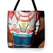 Z-bot Robot Toy Tote Bag