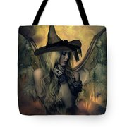 A Witch's Soul Does Never Die Tote Bag