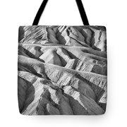 Zabriske Point Death Valley  Bw6398 Tote Bag