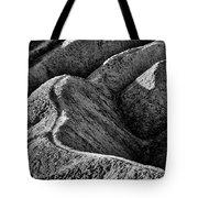 Zabriskie Point Badlands - Death Valley Tote Bag