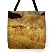 Zabriskie Point, Death Valley Tote Bag
