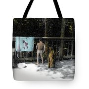 Zach And Jack  Tote Bag
