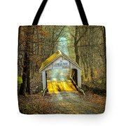Zacke Cox Covered Bridge Tote Bag