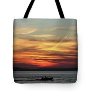 Zadar Sunset Tote Bag
