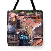 Zagreb Afternoon Tote Bag