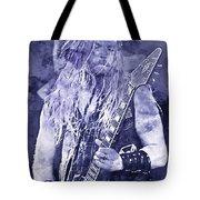 Zakk Wylde - Watercolor 06 Tote Bag
