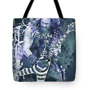 Zakk Wylde - Watercolor 07 Tote Bag