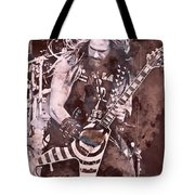 Zakk Wylde - Watercolor 08 Tote Bag
