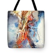 Zakk Wylde - Watercolor 09 Tote Bag