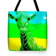 Zany Giraffe Tote Bag