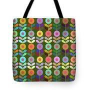 Zappwaits Flower Tote Bag