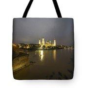 Zaragoza Nights  Tote Bag