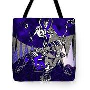 Zazen Jazz Tote Bag