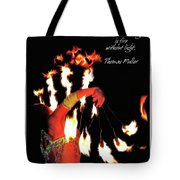 Zeal Quote Tote Bag