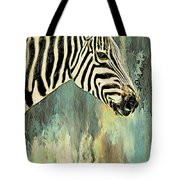 Zebra Abstracts Too Tote Bag