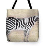 Zebra, C1620 Tote Bag