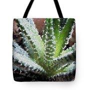 Zebra Cactus  Tote Bag