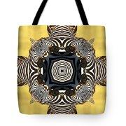 Zebra Cross Tote Bag