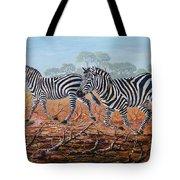 Zebra Crossing Tote Bag