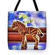 Zebra Dreaming Tote Bag