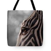 Zebra I Tote Bag