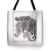 Zebra Series 6 Tote Bag