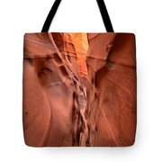 Zebra Slot Canyon Glow Tote Bag