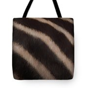 Zebra Stripes Tote Bag