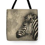 Zebra Study Tote Bag