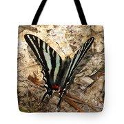Zebra Swallowtail Tote Bag