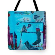 Zebra Tree Tote Bag