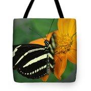 Zebra Wing Profile...   # Tote Bag