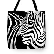 Zebra Works Tote Bag