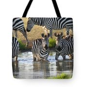 Zebra15 Tote Bag