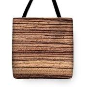 Zebrawood - Natural Abstract Tote Bag