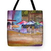 Zelda's Umbrellas Tote Bag